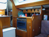 X yacht for sale in Cyprus - galley of the X119