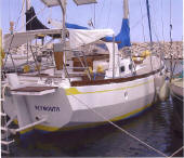 Alan Pape designed - Ebbtide steel yacht for sale