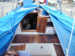 Cheoy Lee custom offshore cutter for sale - boat covers