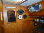 Cheoy Lee custom offshore cutter for sale - aft cabin