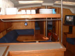 Hunter yacht for sale - ready to go liveaboard. Sleeps 8 in 4 cabins - The Galley