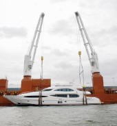 Lift your pleasure craft out of the water on to a ship, Worldwide  yacht deliveries.