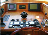 Controls at the helm